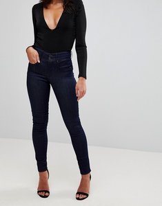 Read more about Salsa secret waist sculpting skinny jean - dark blue rinse