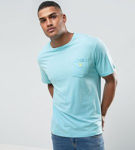 Read more about Polo ralph lauren tall logo pocket t-shirt in aqua blue - true aqua