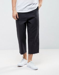 Read more about Levis line 8 wide cropped trouser - black