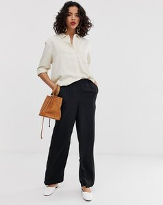 Read more about Vero moda wide leg trouser with elasticated waist