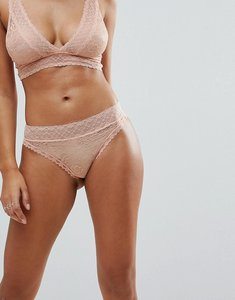 Read more about Y a s lace brief - pink