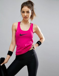 Read more about Nike pro training tank top in pink - pink