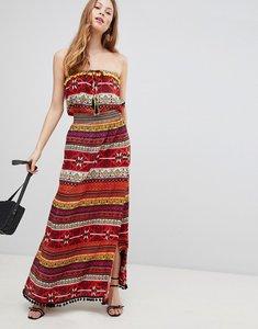 Read more about Glamorous pattern maxi dress - multi pattern stripe