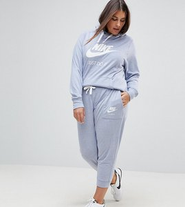 Read more about Nike plus gym vintage sweat pants in glacier grey - grey