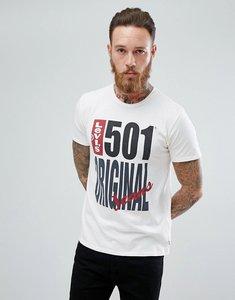 Read more about Levi s 501 original print t-shirt - 501 original white