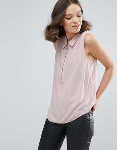 Read more about Mbym sleeveless shirt - lilac shadow