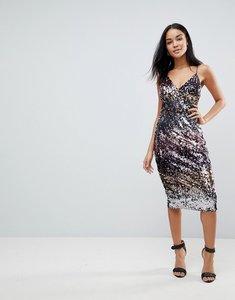 Read more about Club l ombre sequin midi dress - multi