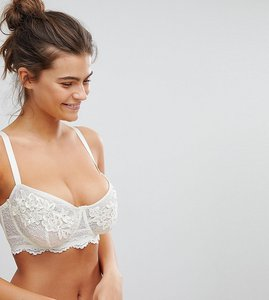 Read more about Wolf whistle white applique b-g cup bra - ivory