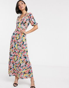 Read more about Asos design maxi tea dress with strappy back in floral print