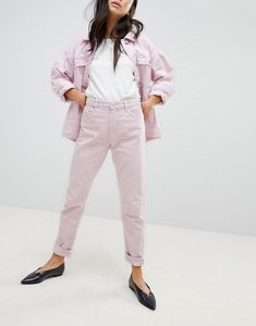 Read more about Monki kimomo pink mom jeans - pink