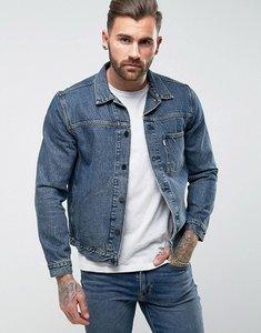 Read more about Levis line 8 denim trucker jacket muscle wash - blue