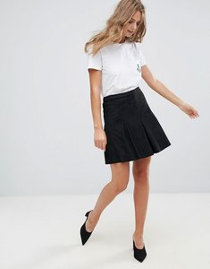 Read more about Minimum mini pleated skirt - black 999