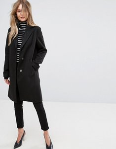 Read more about New look tailored coat - black