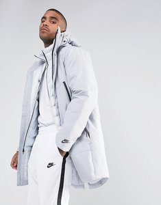 Read more about Nike aeroloft down filled 2 in 1 coat in grey 863730-012 - grey