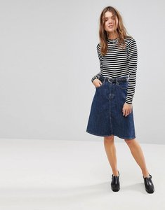 Read more about Levi s a line midi skirt - everything is indigo