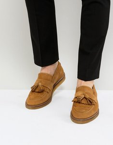 Read more about House of hounds bully suede loafers - tan