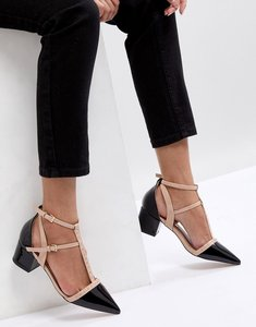 Read more about Miss kg averie heeled shoes - black