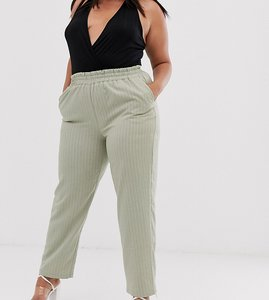 Read more about Unique21 hero plus relaxed trousers in pinstripe co-ord