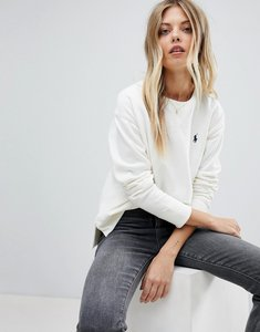 Read more about Polo ralph lauren crew neck sweat - white
