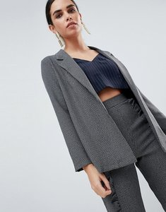 Read more about Love tailored blazer - grey check