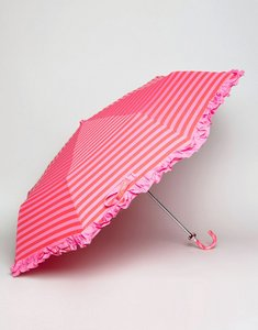 Read more about Bombay duck lollipops stripy handbag umbrella fuchsia and red - pink