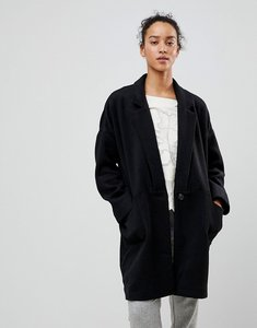 Read more about See u soon oversized coat - black