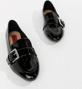 dd6bdc034 london rebel lace up flat brogue shoes black - Shop london rebel ...