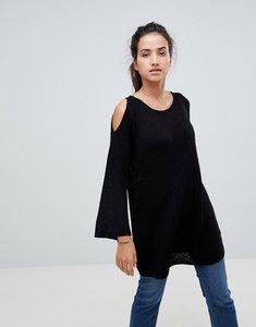 Read more about Glamorous cold shoulder jumper - black
