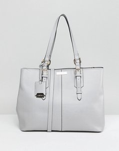 Read more about Carvela ortha slouch tote bag - grey