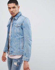 Read more about Hugo zip denim jacket in blue - 430