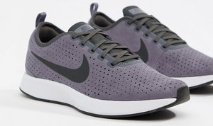 Read more about Nike dualtone racer premium trainers in grey 924448-003 - grey