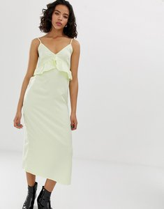 Read more about Vero moda frill detail cami dress - tender yellow