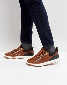 Read more about Polo ralph lauren adventure trainers leather hiking in tan - tan