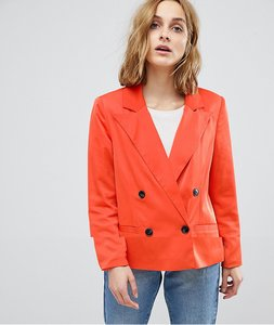 Read more about Vero moda 80 s blazer with shoulder pads - red