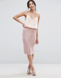 Read more about Glamorous pencil skirt - light dusty pink