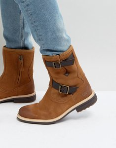 Read more about Ugg jaren treadlite leather buckle boots - beige