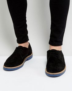 Read more about Kg by kurt geiger morcombe derby shoes with contrast sole black - black