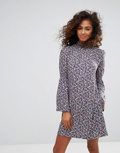 Read more about Esprit flare sleeve floral ditsy dress - multi