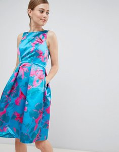 Read more about Closet london floral print prom dress - multi