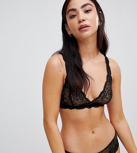 Read more about Monki lace thong - black