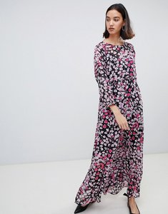 Read more about Selected femme floral print maxi dress - multi