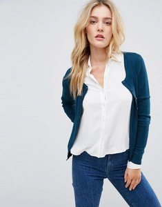 Read more about Vero moda button front cardigan - reflecting pond