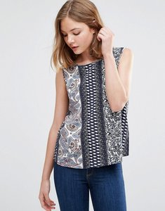 Read more about Jdy floral sleeveless top - boho