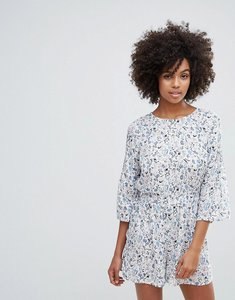 Read more about Vero moda printed playsuit - ombre blue aop