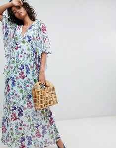 Read more about Ghost kimono sleeve printed maxi dress - sally bloom