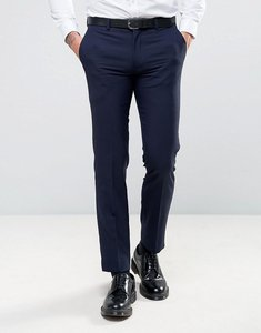 Read more about Harry brown slim fit plain suit trousers - navy