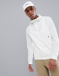 Read more about J lindeberg golf jeff mid-length tech fleece jacket in white - 0000