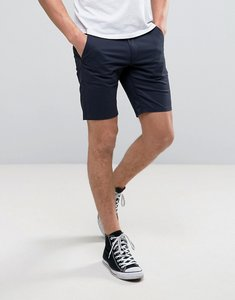 Read more about Farah hawk straight chino shorts in navy - true navy