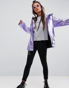 Read more about Asos metallic rain jacket - lilac