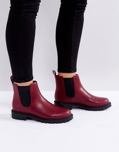 Read more about Monki chelsea boots - burgundy